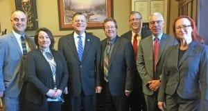 Cathy Gunther, Representative Tom Cole; Roger Harris, Vance Harrison, David Griffin, Nancy Struby