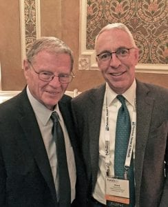 Senator Jim Inhofe with David Griffin