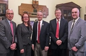 David Griffin, Nancy Struby, Representative Steve Russell, Vance Harrison, Heston Wright
